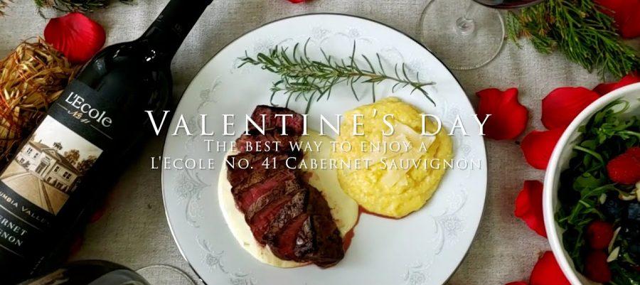 Valentines Day The best way to enjoy a L'Ecole No 41 Cabernet Sauvignon