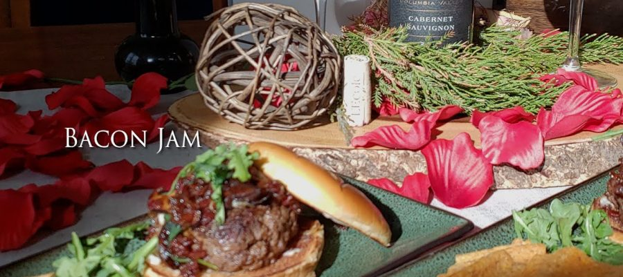 Bacon Jam recipe, paired with Cabernet Sauvignon