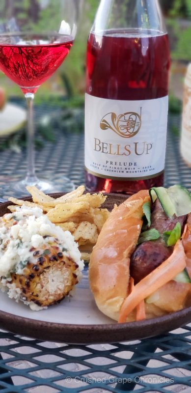 Bells Up 2020 Prelude Rose of Pinot Noir from Chehalem Mountian AVA