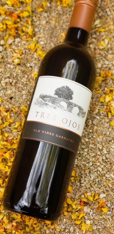 Tres Ojos 2018 Old Vine Garnacha from DO Calatayud Aragon Spain