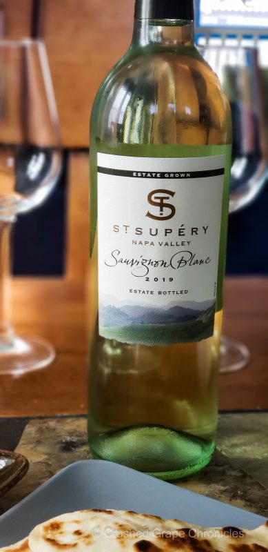 St. Supery Sauvignon Blanc and Middle Eastern Food