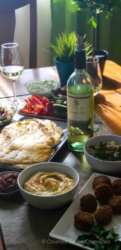 St. Supery Sauvignon Blanc and Middle Eastern Meze