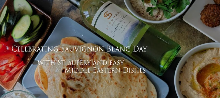 St Supery savignon blanc with middle eastern dishes