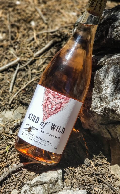 Even the bees knew this was good Rose from Kind of Wild