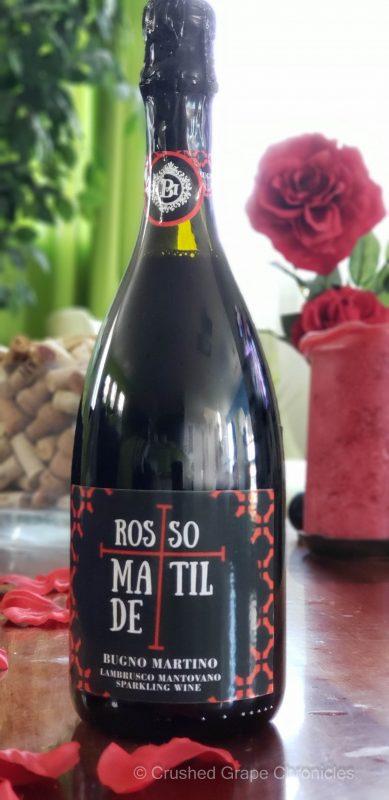 2019 Rosso Matilde Lambrusco Mantovano from Bugno Martini