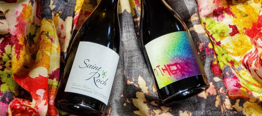 Wines of Maury Chateau Saint Roch 2017 Grenache Blanc Roussanne and 2015 Department 66 Others