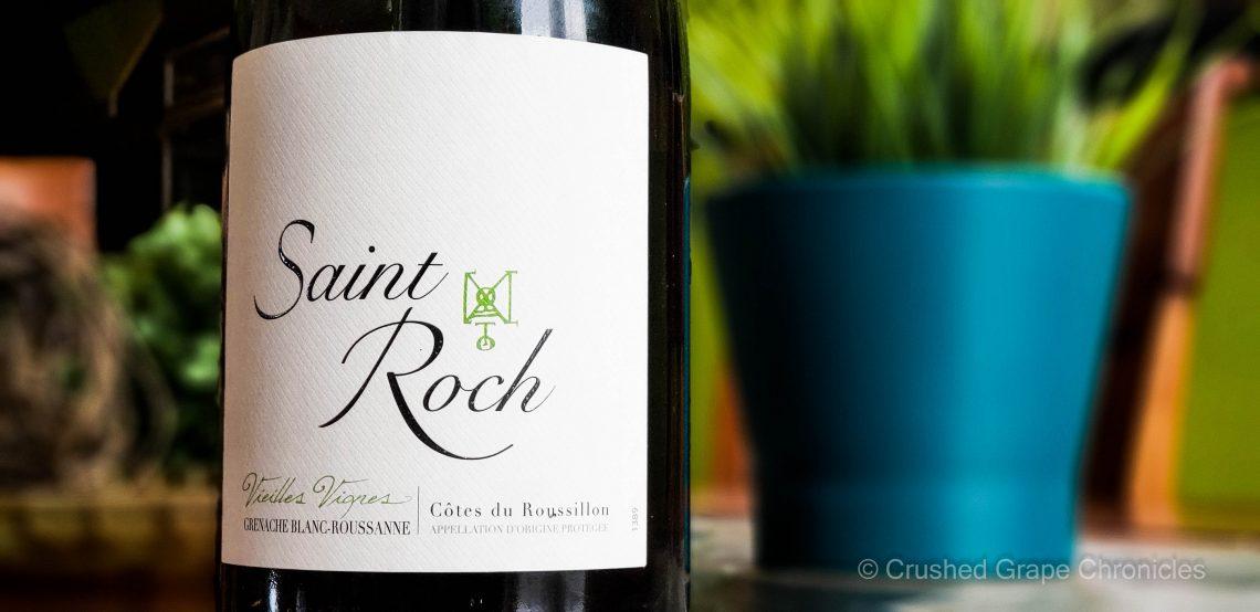 Chateau Saint Roch 2017 Vielles Vignes Grenache blanc Roussanne from Maury
