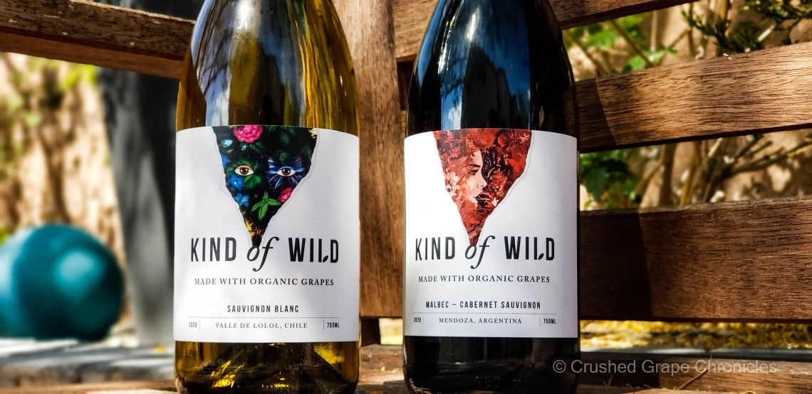 Kind of Wild Sauvignon Blanc and Malbec Cabernet Sauvignon
