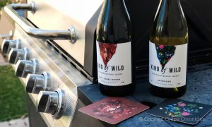 Kind of Wild Wines with foods on the grill