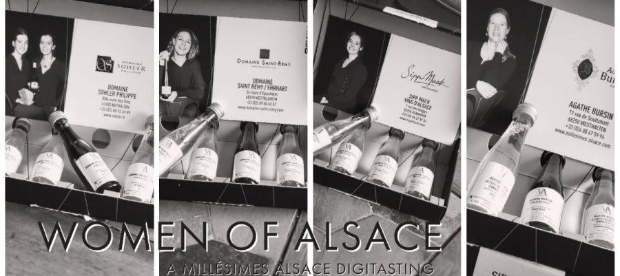 Millésimes Alsace Digitasting with Domaine Sohler Philippe, Domaine Saint Remy/Ehrhart, Sipp Mack and Agathe Bursin