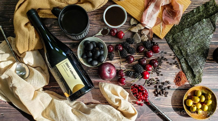 xobc 2018 Catherine Syrah with its flavor and aroma profile