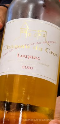 Chateau du Cros Loupiac AOP Sweet Bordeaux