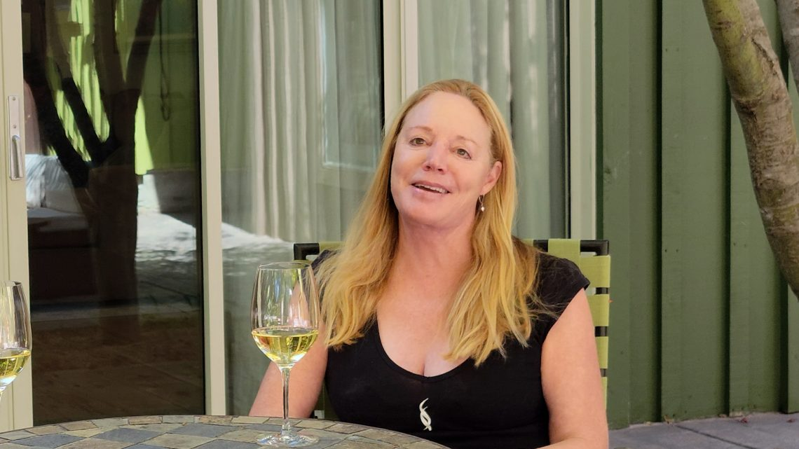 Susie Selby of Selby Wines in Healdsburg