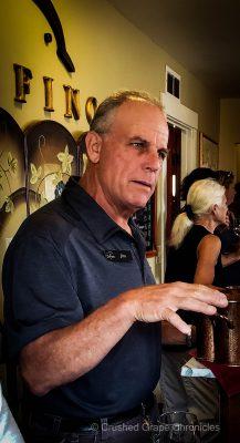 Jim Delfino of Delfino Vineyards in Oregon's Umpqua Valley