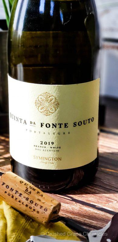 Quinto da Fonte Souto Branco 2019 from Symington Family Estates in Alentejo Portugal
