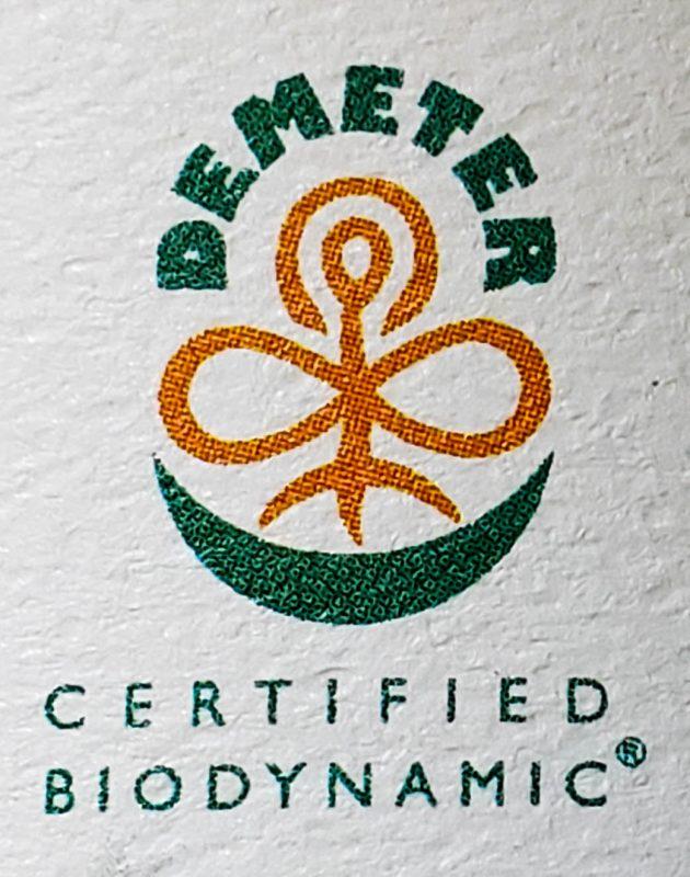 Demeter Certified Biodynamic
