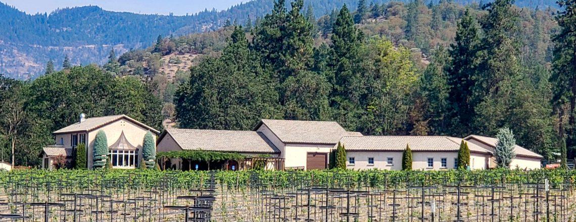Troon Vineyards Winery and Tasting room in Southern Oregon's Applegate Valley