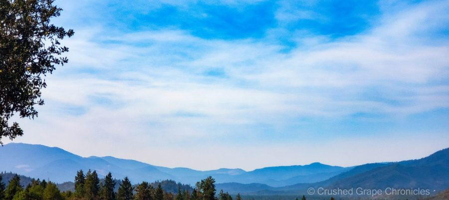 The view from Troon Vineyard in Southern Oregon's Applegate Valley