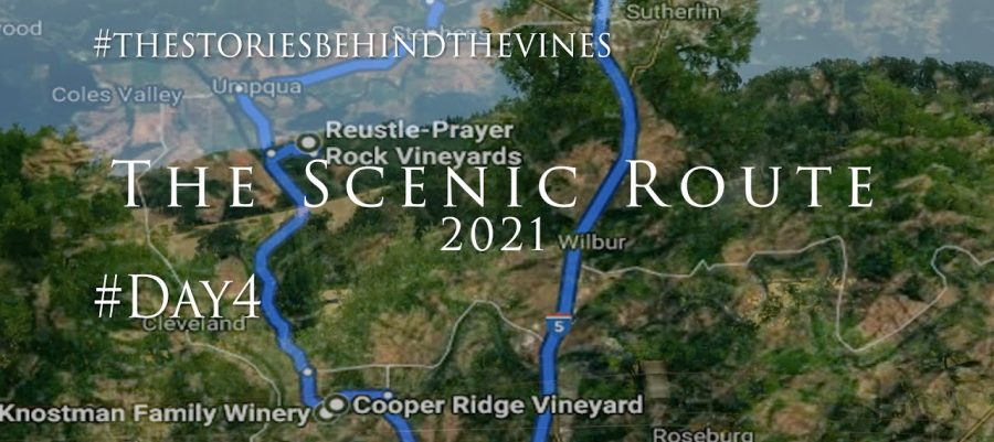 The Scenic Route Day 4, The Hundred Valleys of the Umpqua - Discovering the wineries of the region
