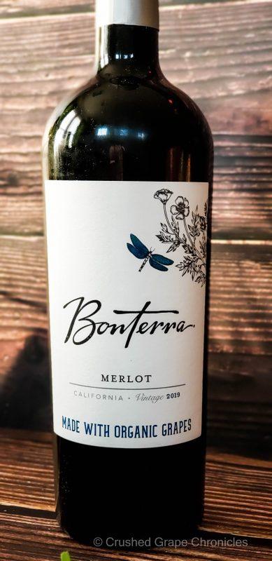 Bonterra 2019 California Merlot for #MerlotMe