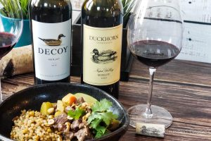 #MerlotMe with Duckhorn and Decoy Merlots and a Massaman Beef Curry