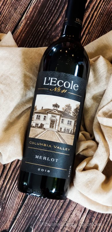 L'Ecole No. 41 2018 Columbai Valley Merlot