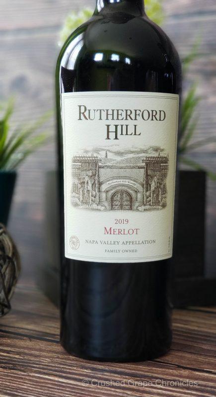Rutherford Hill 2019 Merlot Napa Valley for #MerlotMe