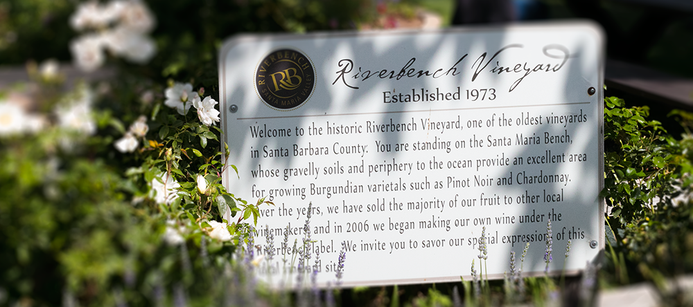 Riverbench Winery, a little History